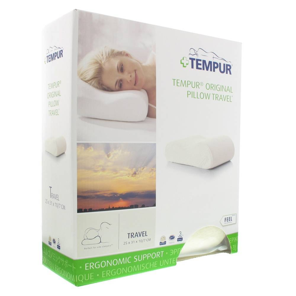 Distrac Tempur Travel Pillow 25x31x10cm 1 5705940139708