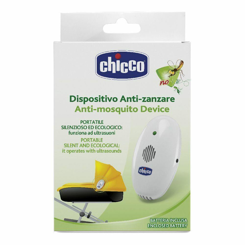chicco ® dispositivo anti-zanzare ultrasuoni portatile 1 pz apparecchi