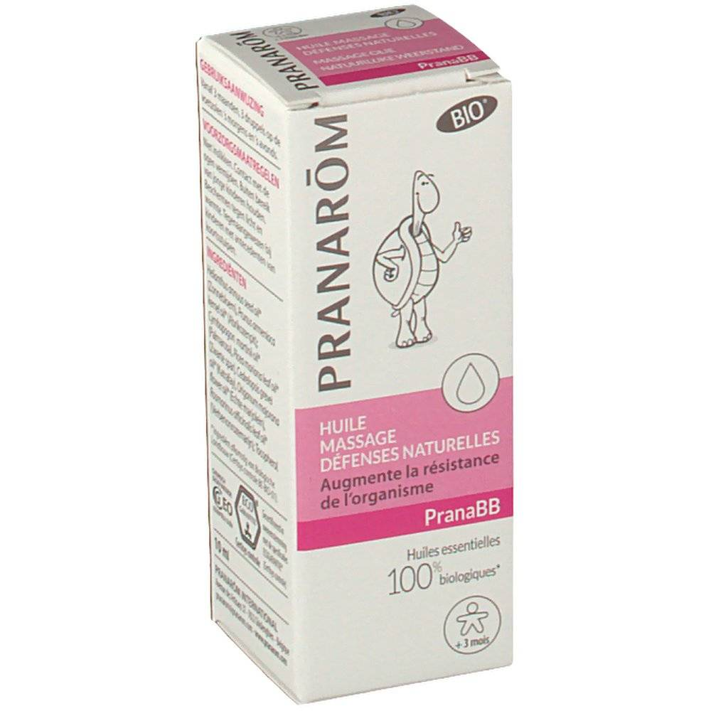 Pranarom International Pranarom PranaBB Immunity Massage Oil 10 5420008510403