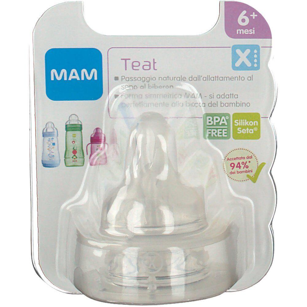 Baby Italia MAM Teat X 6+ mesi 2 9001616341427
