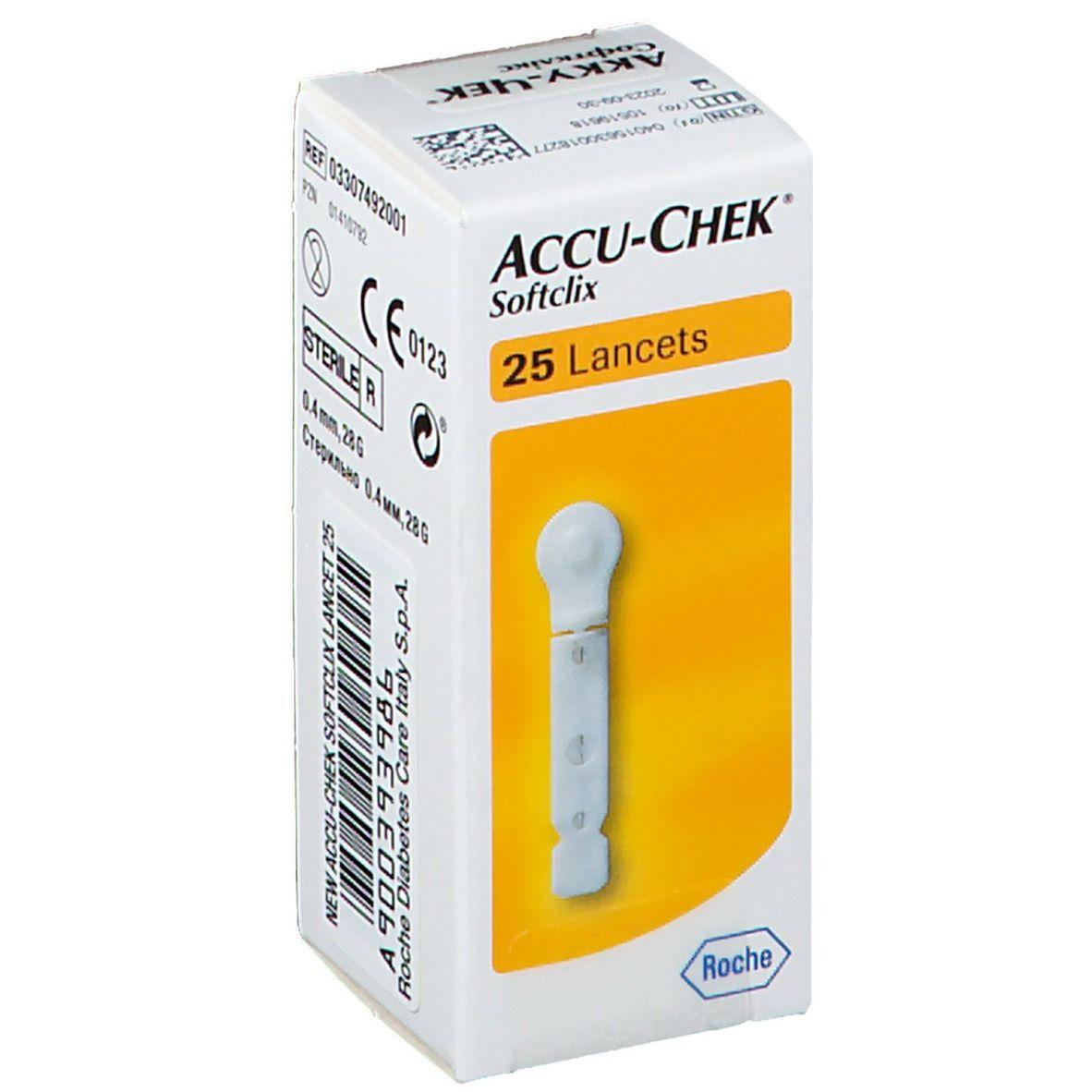 Accu-Chek Roche Softclix 25 pz Lancette