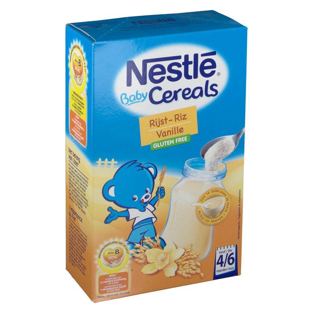 Nestle Belgilux Baby Crema Cereali Riso-Vaniglia 500 7613035006072