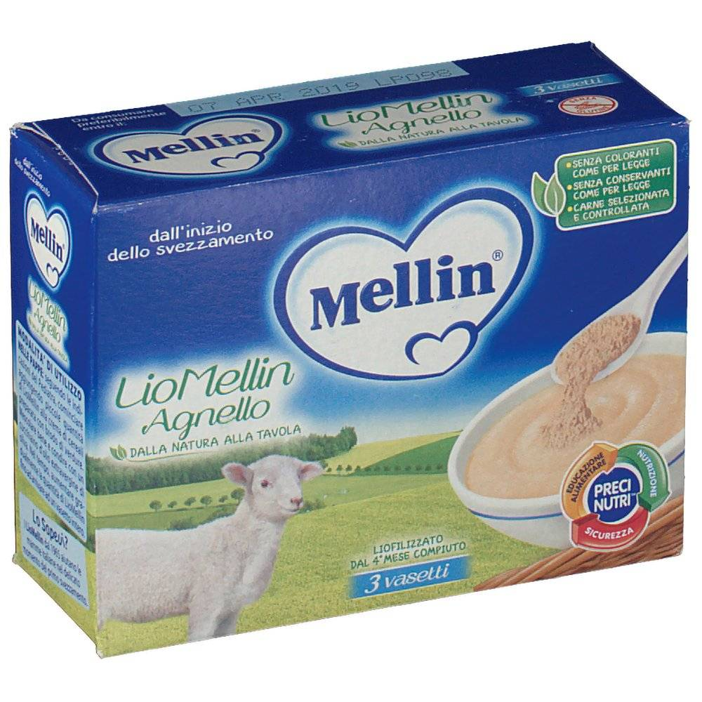 Mellin SpA Mellin® LioMellin all'Agnello 30 8000050548202