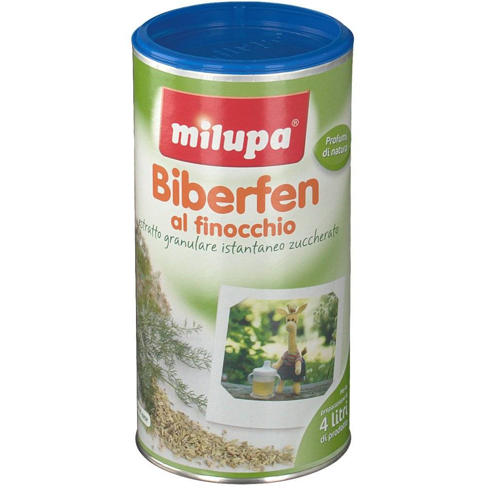 Milupa ® Biberfen al Finocchio 200 8017619160607