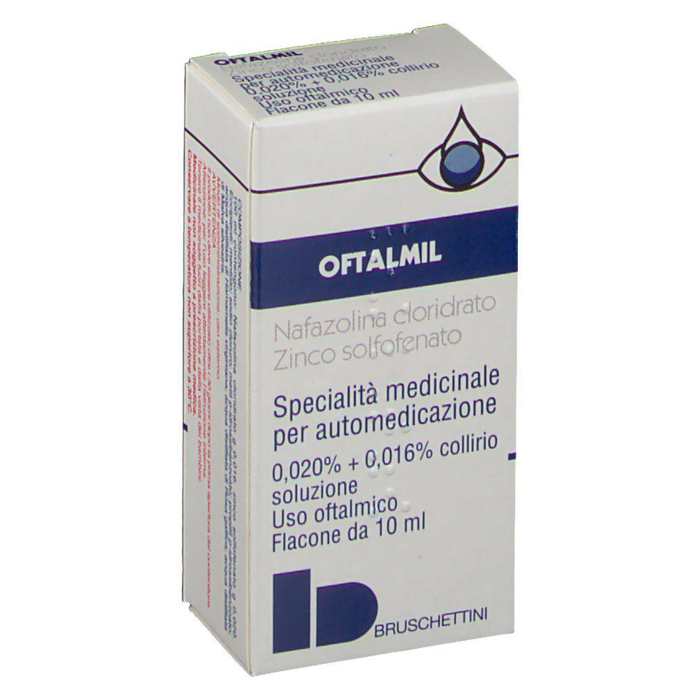 Bruschettini Srl Oftamil 0,020% + 0,016% Collirio 10