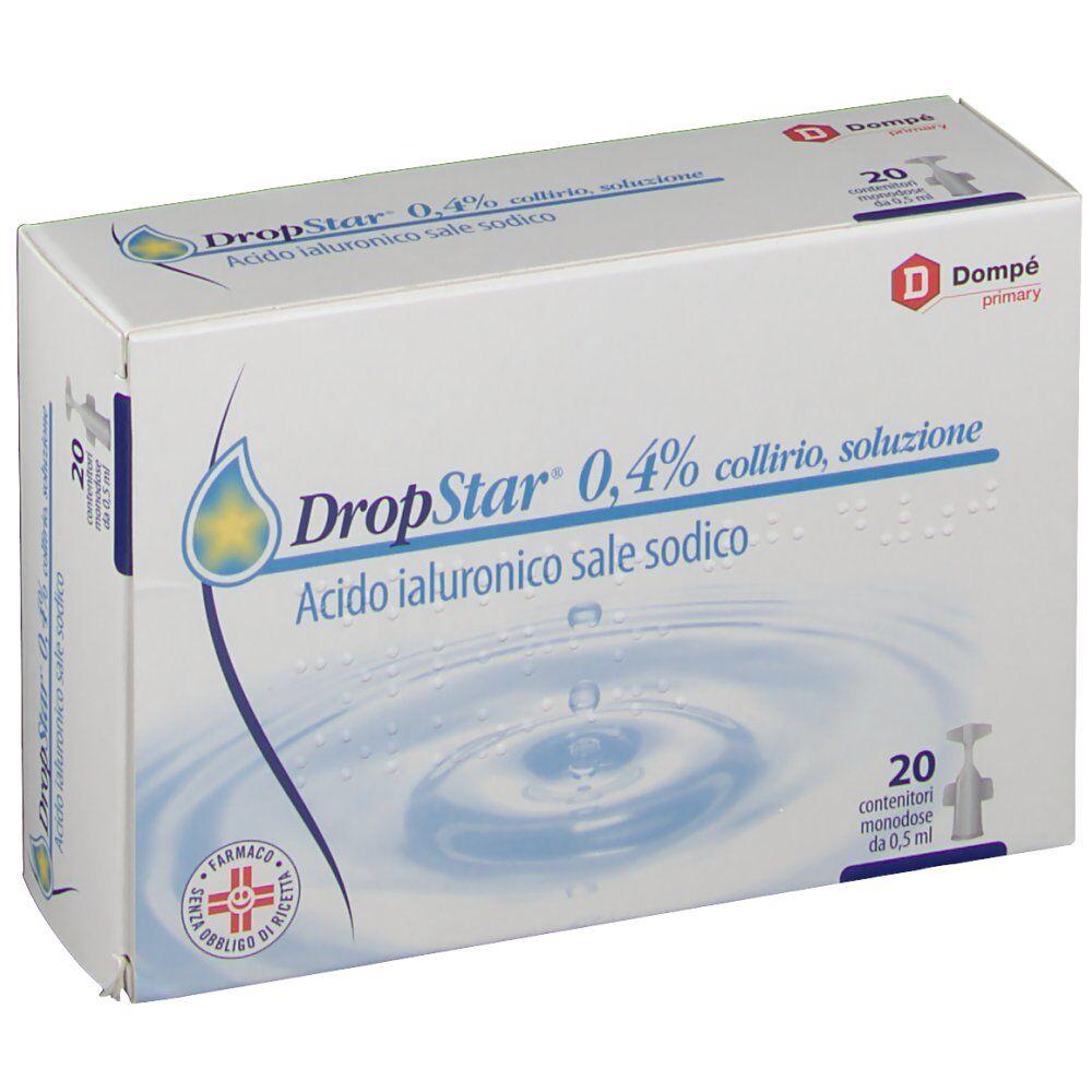 Dompe' Farmaceutici SpA DropStar® 0,4% collirio 20 X 0,50