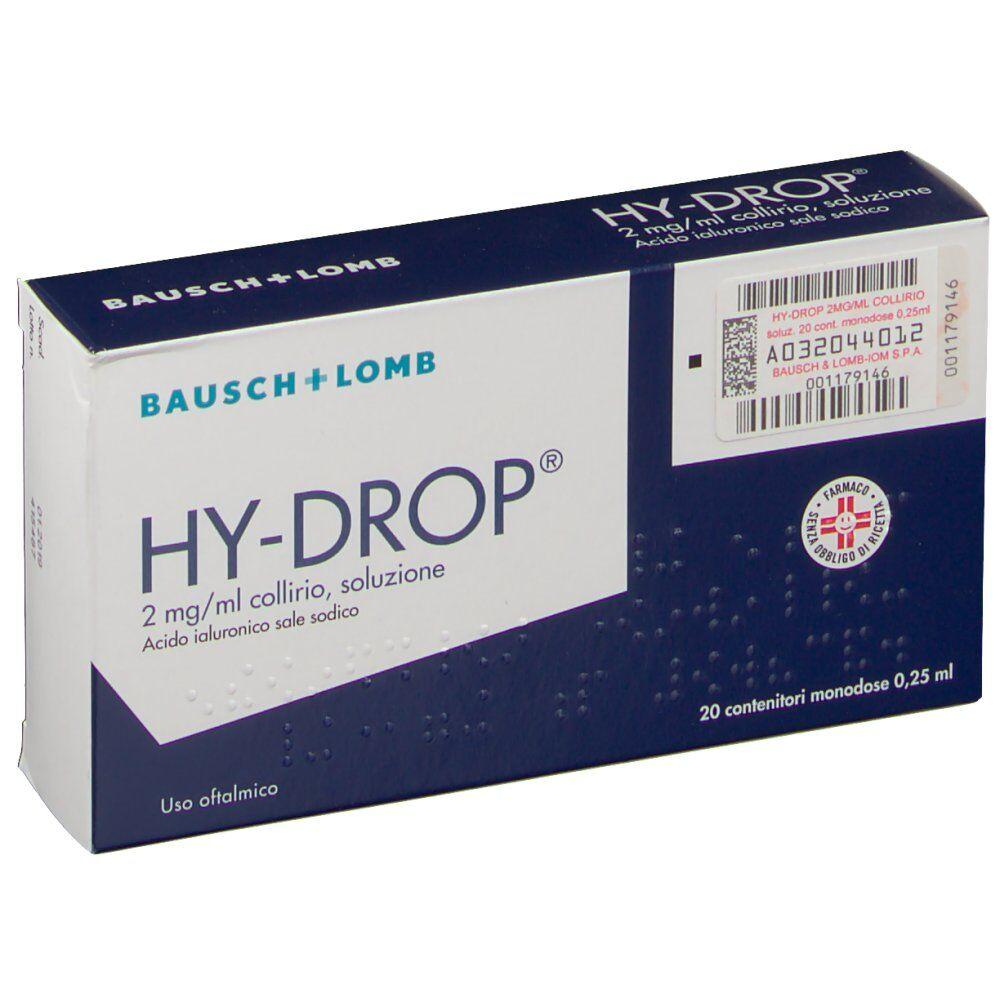 Bausch & Lomb HY-DROP® 20 X 0,25