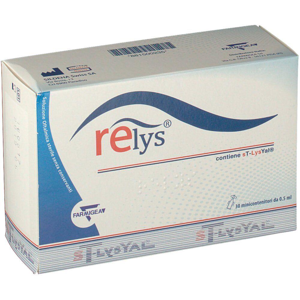 Sildeha Swiss SA Relys® Soluzione oftalmica 30 minicontenitori 30X0,5