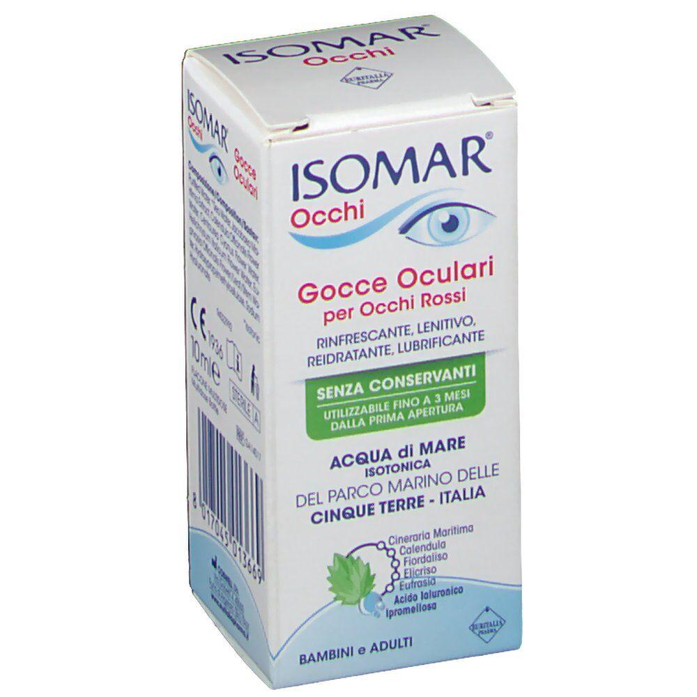 Euritalia Pharma (div.CoSWELL) ISOMAR® Occhi Gocce Oculari per Occhi Rossi 10 8017045013669