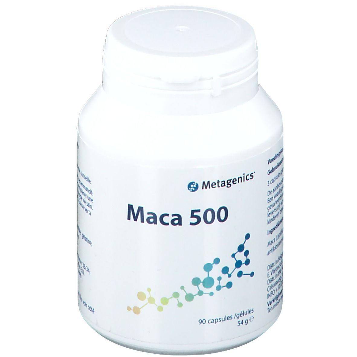 Metagenics Belgium Maca 500 90 pz Capsule