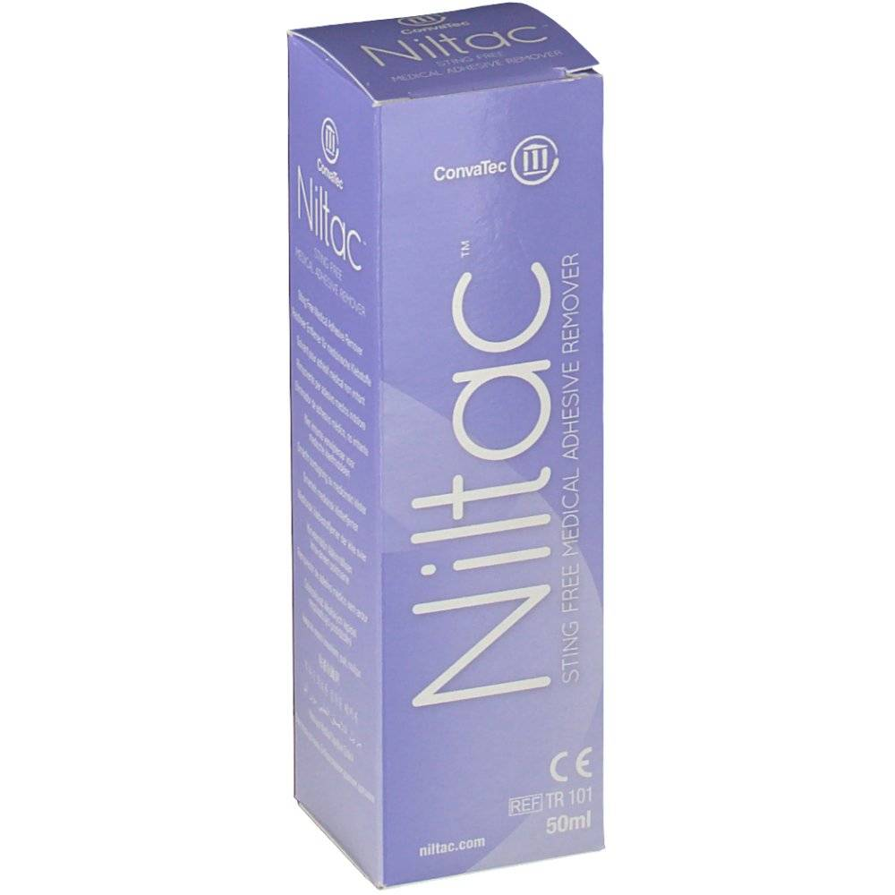 Hospithera Trio Niltac Remover Med. Glue Without Alcohol 50 5060148230009