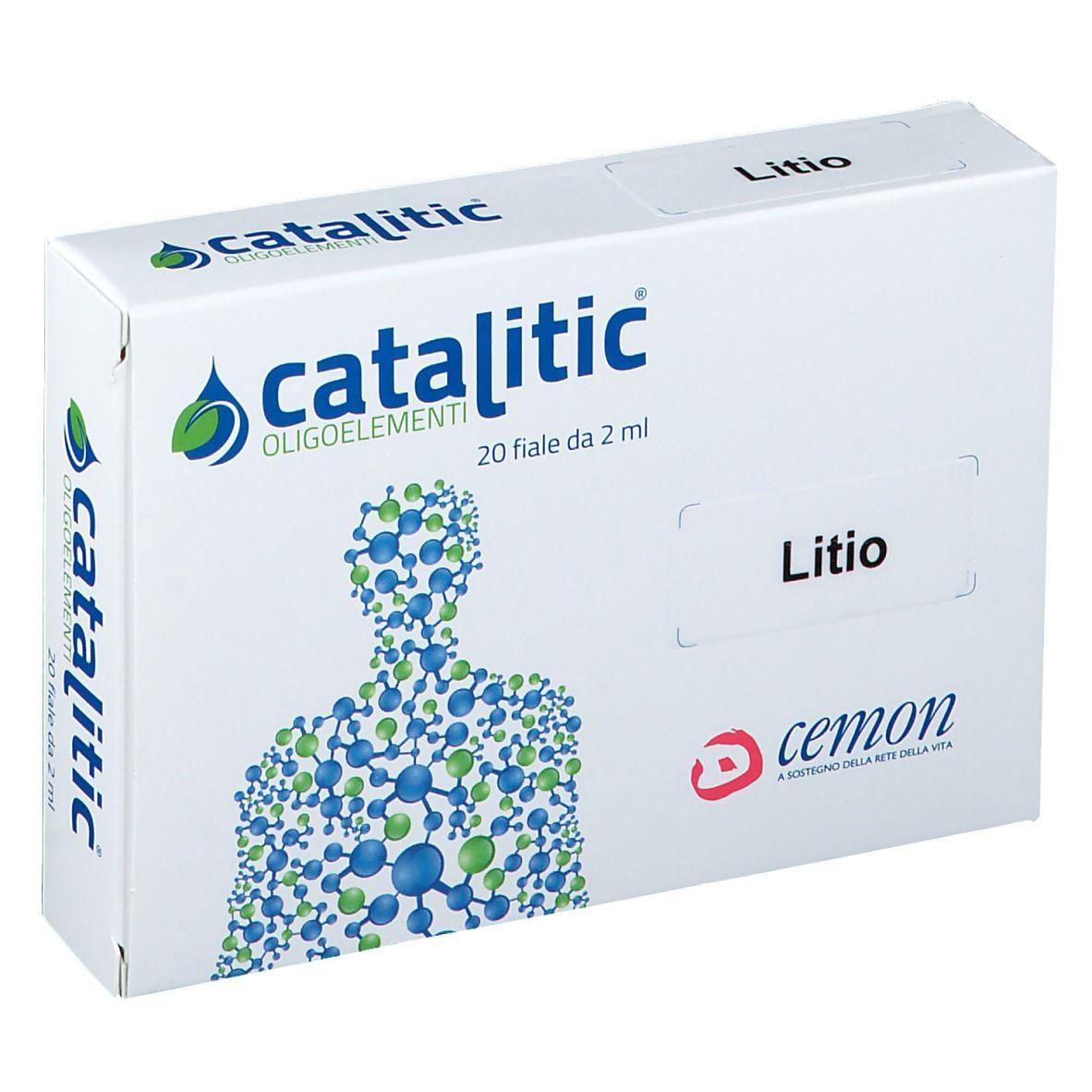 Cemon Srl Cemon Catalitic Oligoelementi Litio 20x2 ml Ampolle potabili