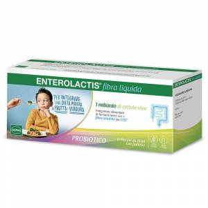 Enterolactis ® Fibra Liquida 12x10 ml Ampolle potabili