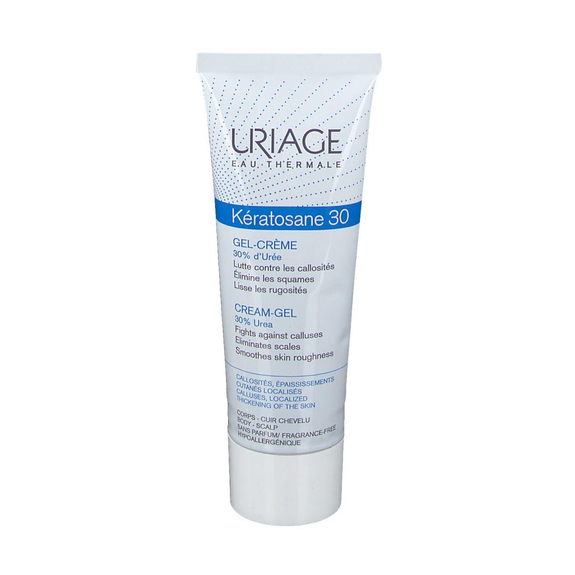 Uriage Kératosene30 Gel-Crema Cheratolitico 75 ml Crema