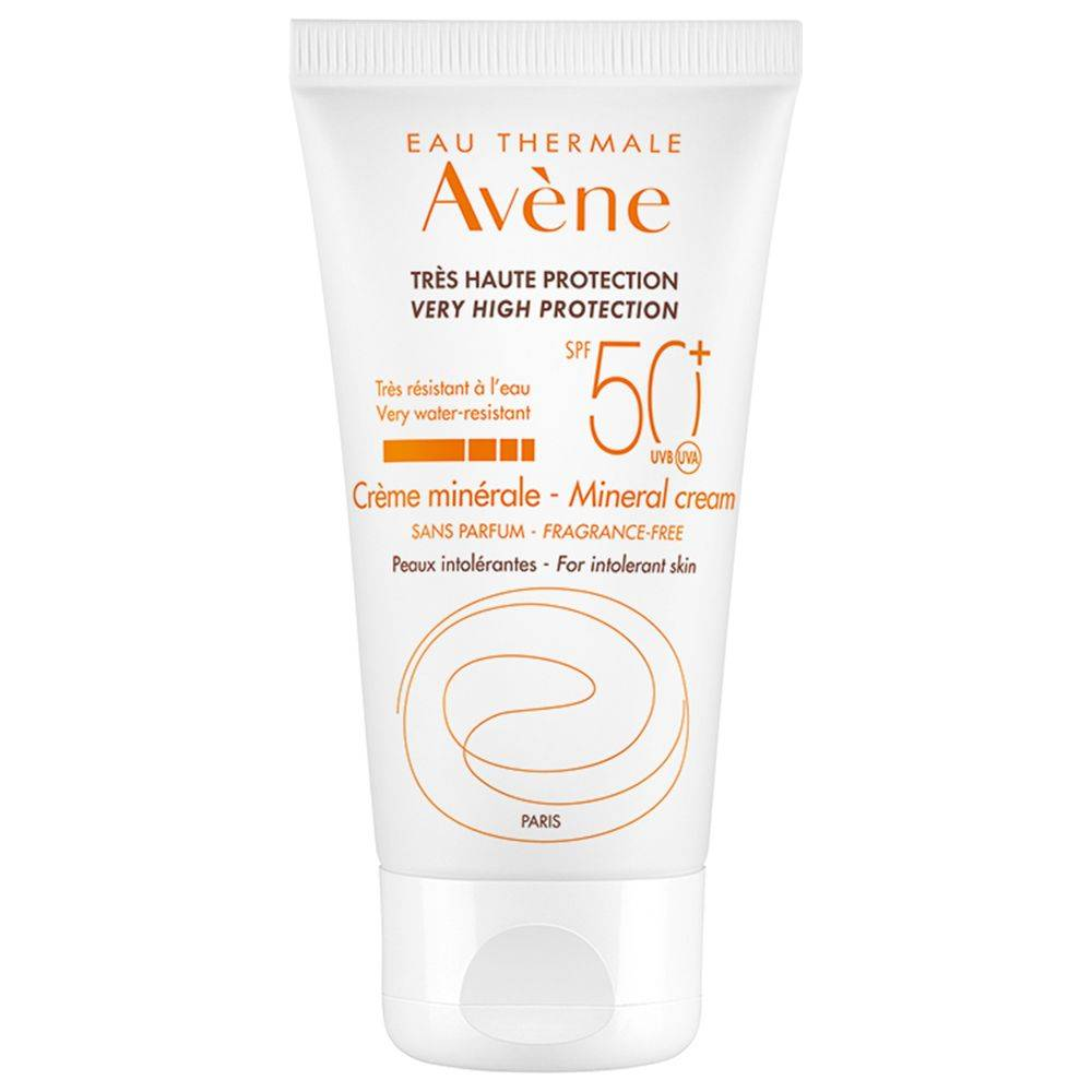 Avène EAU THERMALE Crema Schermo Minerale 50+ 50 ml Crema solare