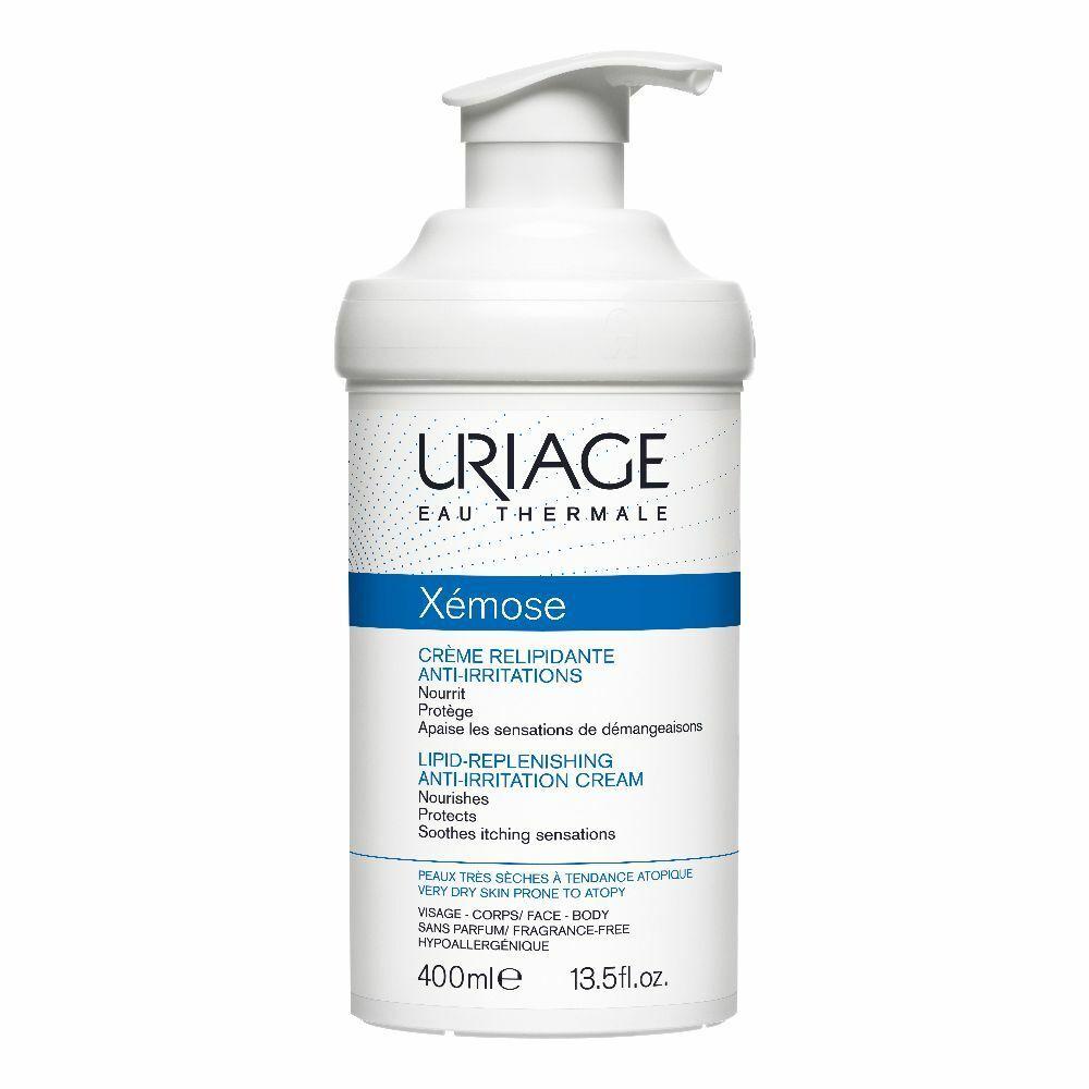 Uriage Xémose Crème Relipidante Anti-Irritations 400 ml Crema