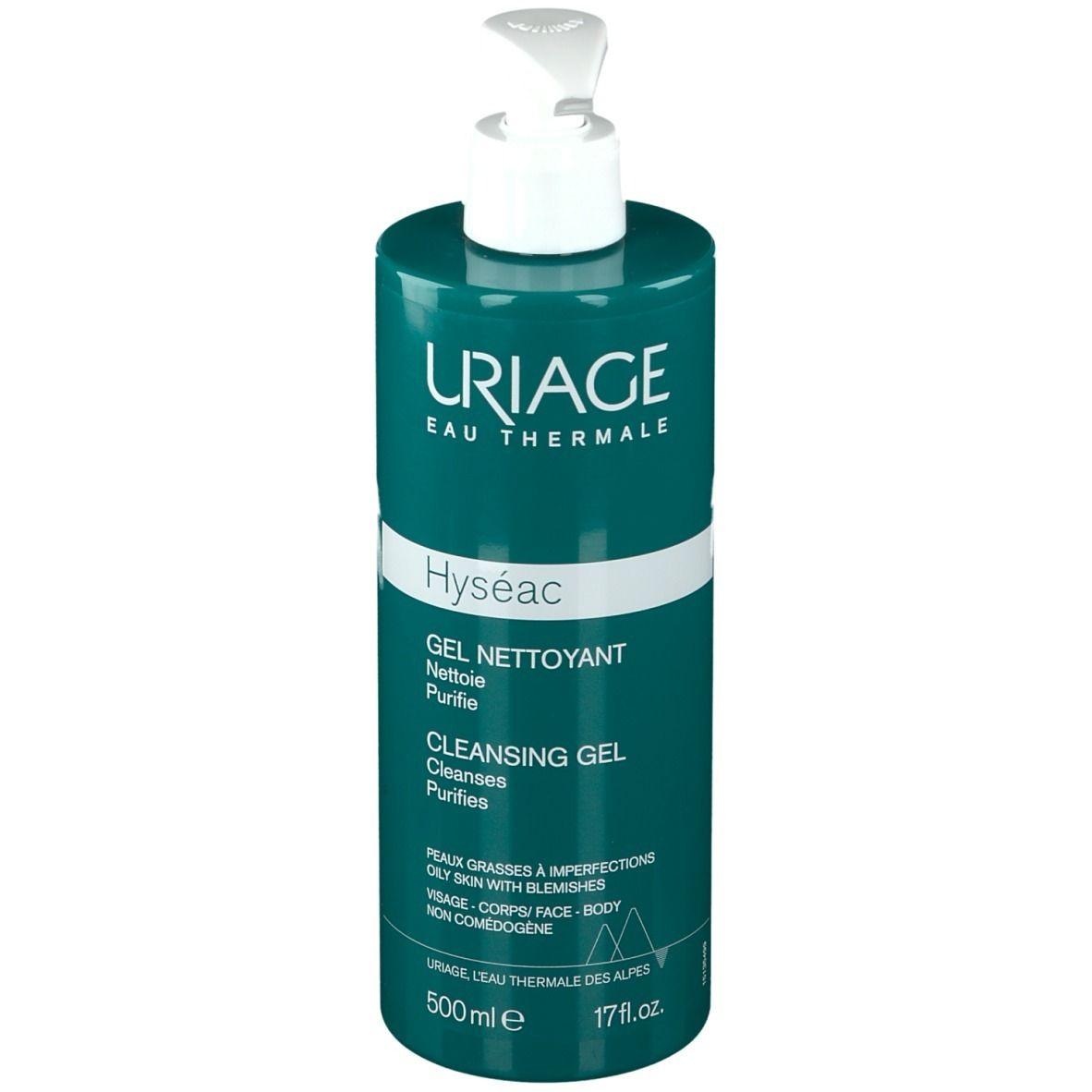 Uriage Hyséac Gel Detergente 500 ml Gel detergente