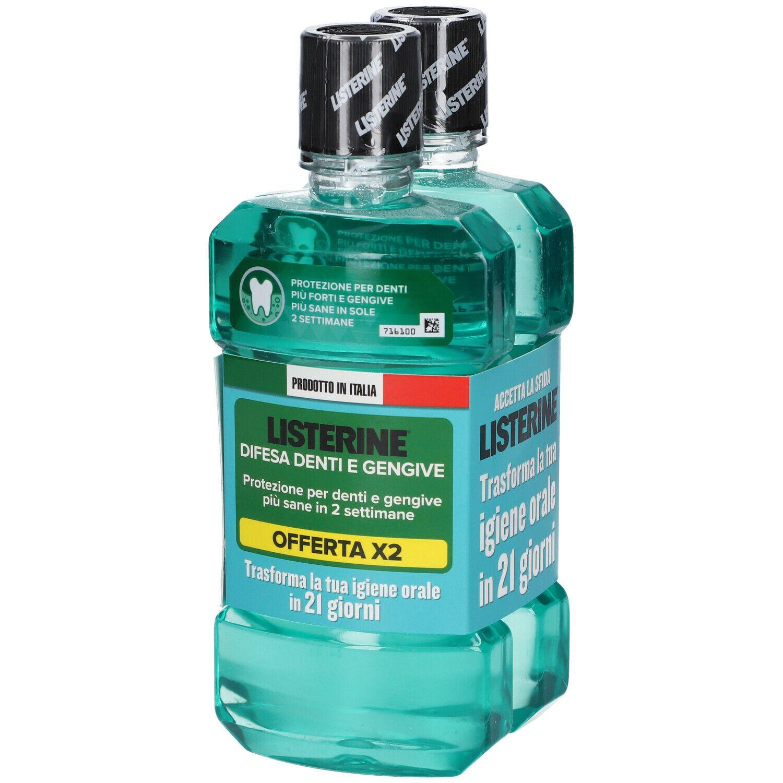 Listerine ® Difesa Denti e Gengive Gusto Delicato 2x500 ml 2X500 ml Col