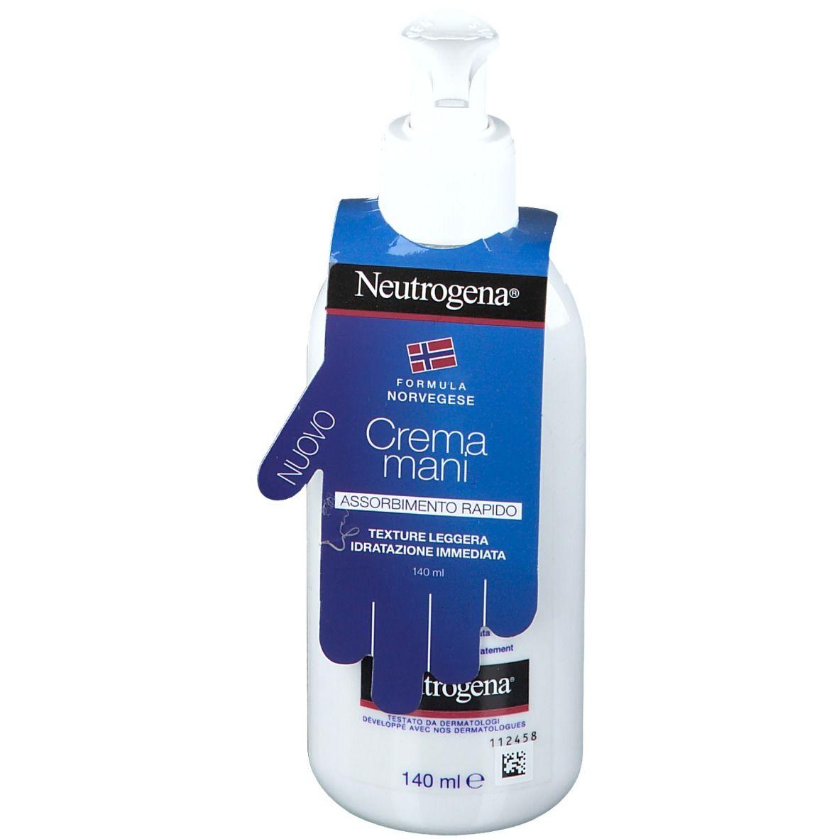 neutrogena ® crema mani assorbimento rapido 140 ml crema