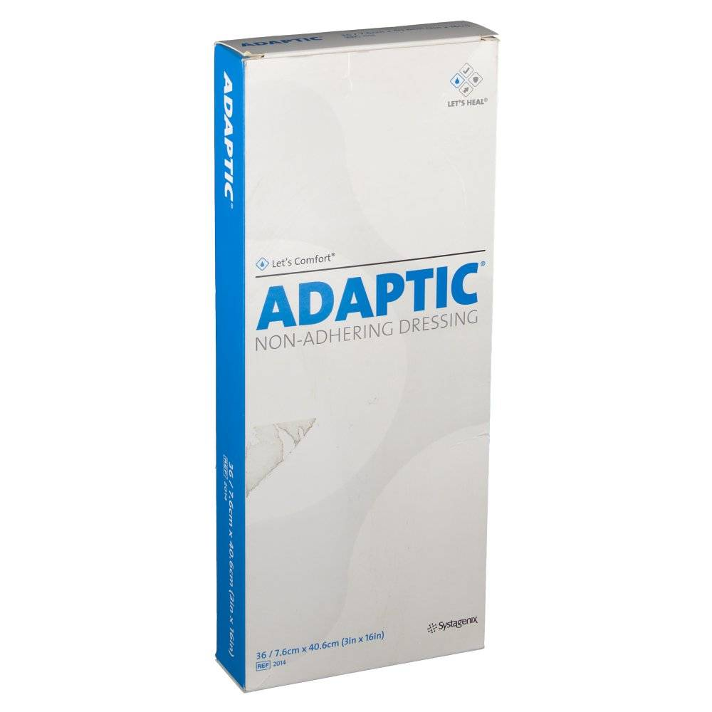 Hospithera ADAPTIC® Medicazione Non-Aderente 7.6 cm x 40.6 cm 36