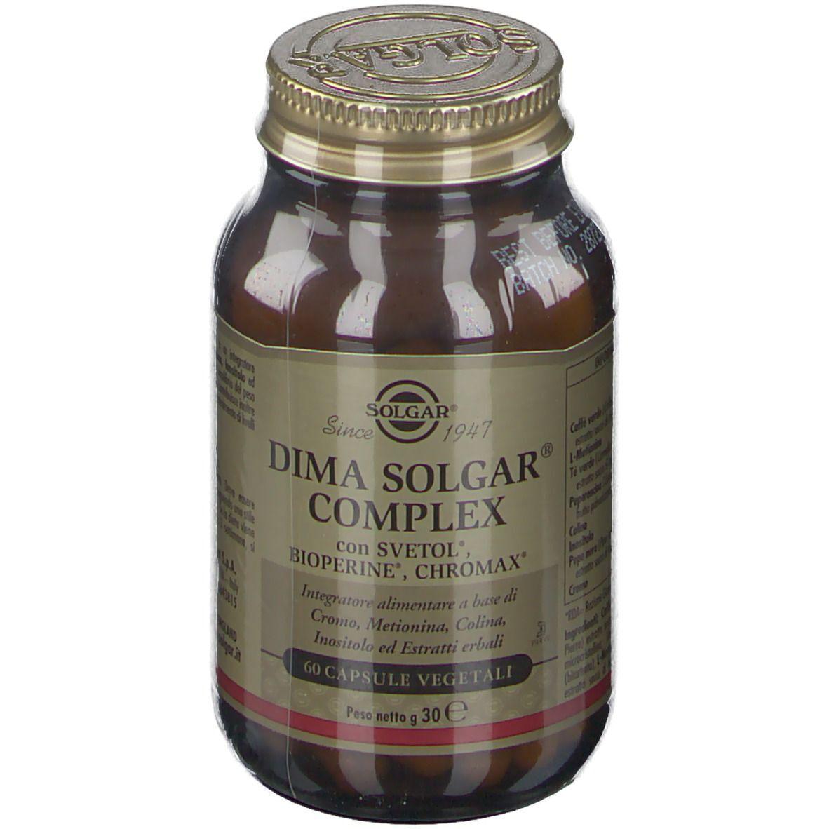 solgar it. multinutrient spa solgar dima solgar complex 60 pz capsule