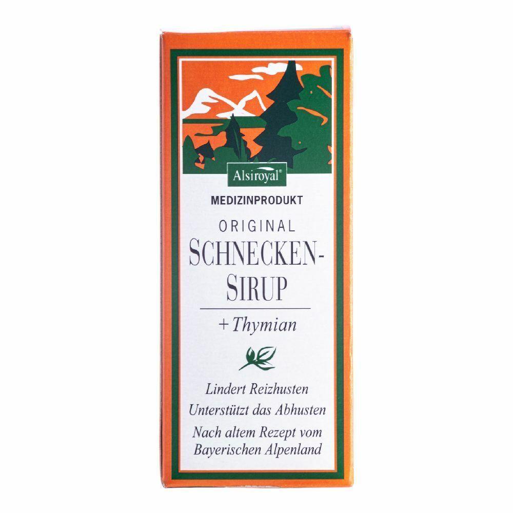 dott.c.cagnola srl alsiroyal® originale sciroppo di lumache + timo 150 ml sciroppo per la