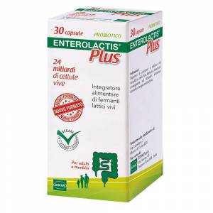 Sofar Enterolactis® Plus 30 Capsule 30 pz Capsule