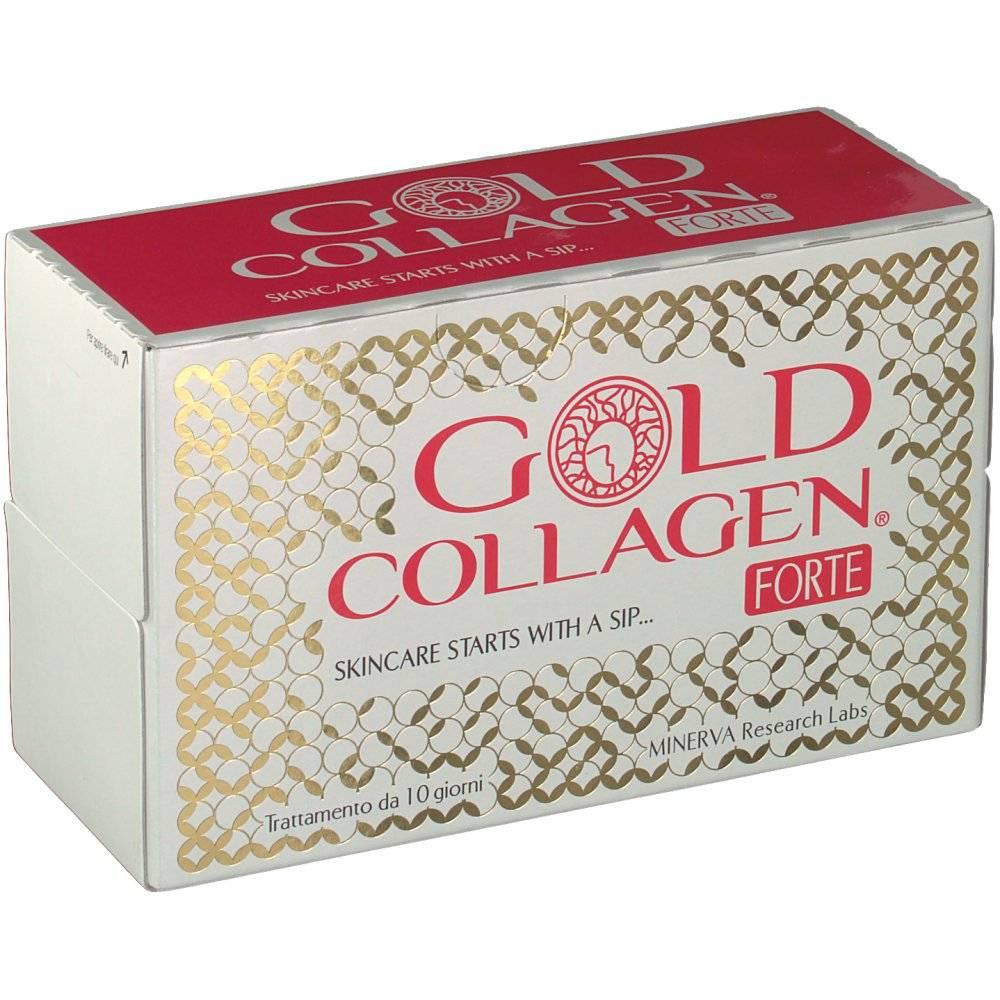 Minerva Research Labs Gold® Collagen Forte 50 ml 500 5060259570254