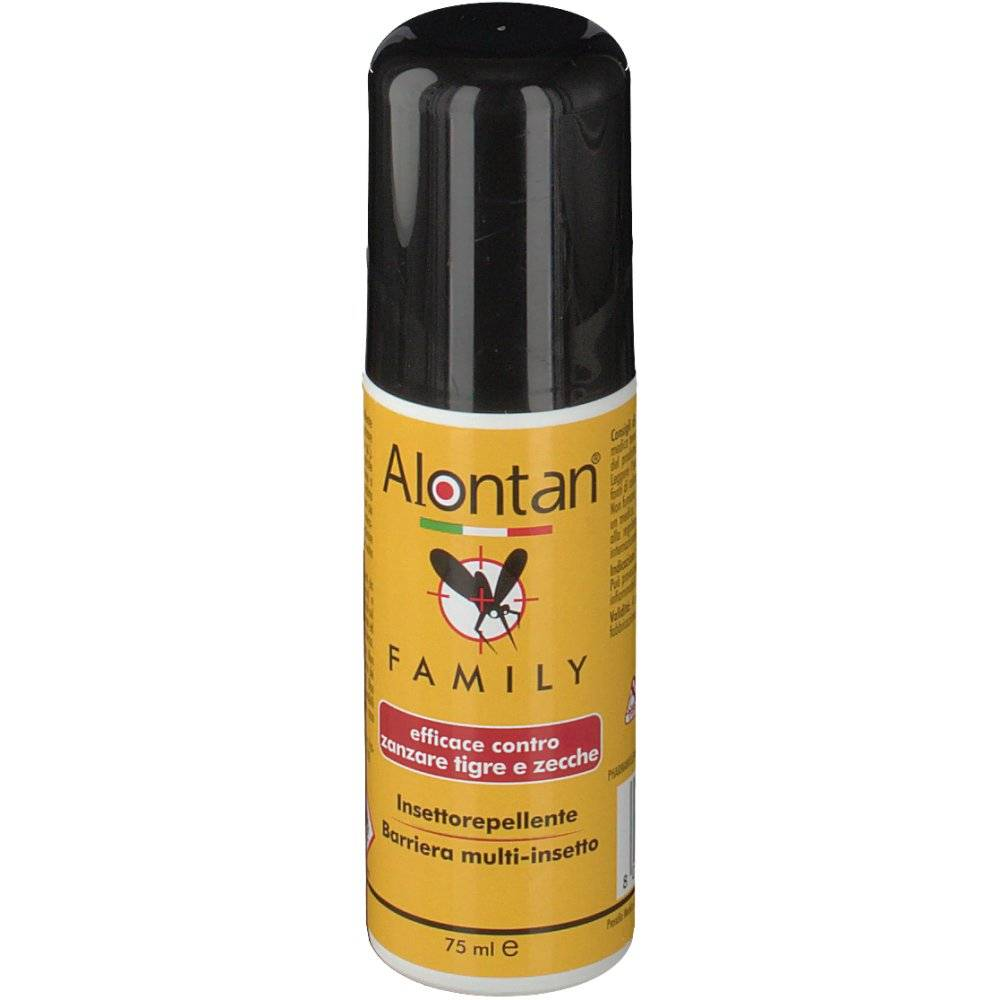 Pietrasanta Pharma SpA Alontan® Family insettorepellente 75 8032956142949