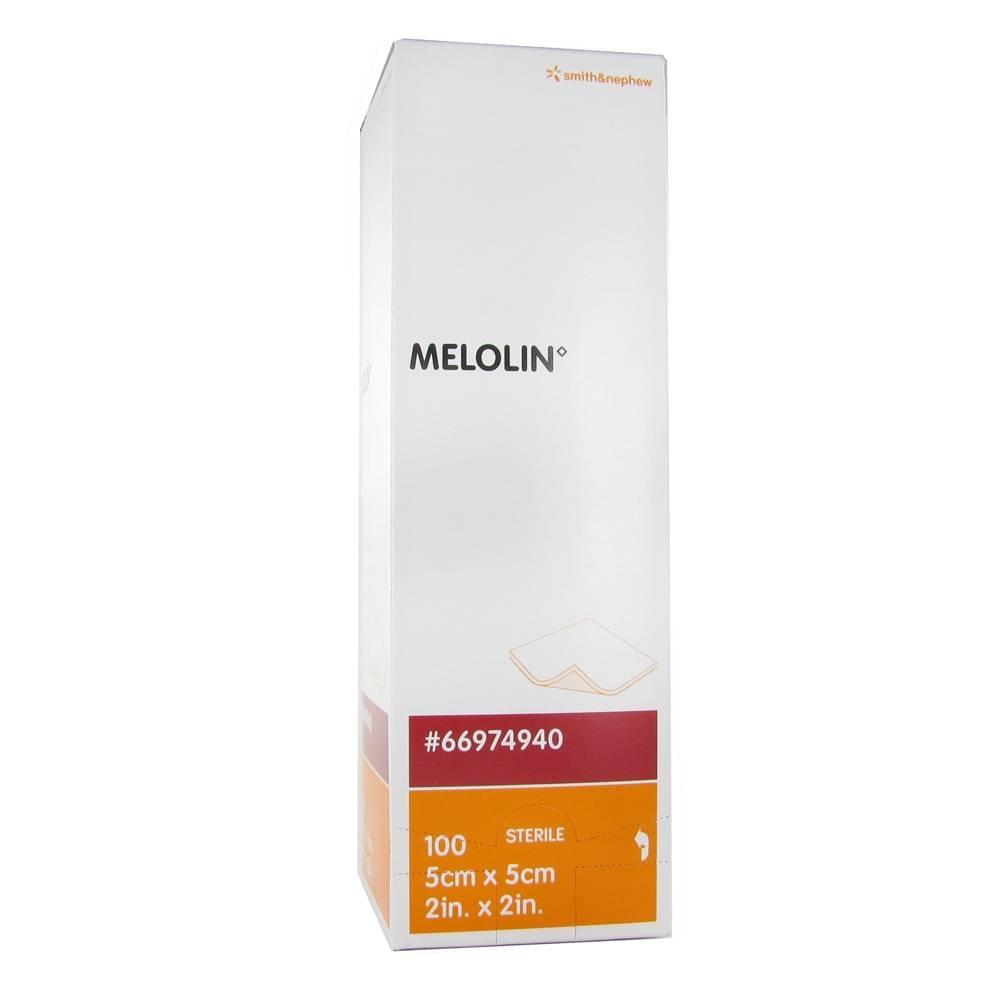 Smith Nephew Melolin Sterile Compres 5 x 5cm 66984940 100 5000223049409