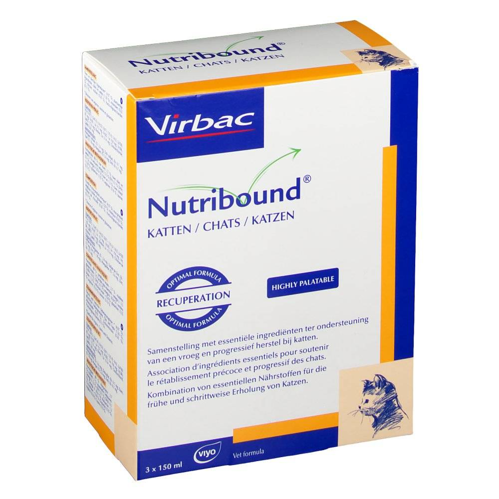 Virbac Nutribound® gatti 3x150 5420043705062