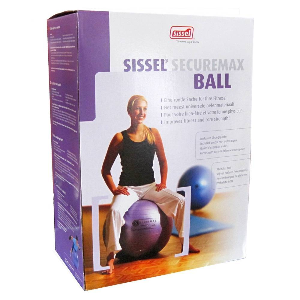 Sissel Benelux Sissel Ball Securemax Sitting Ball Grey 65cm 1 4250694700267