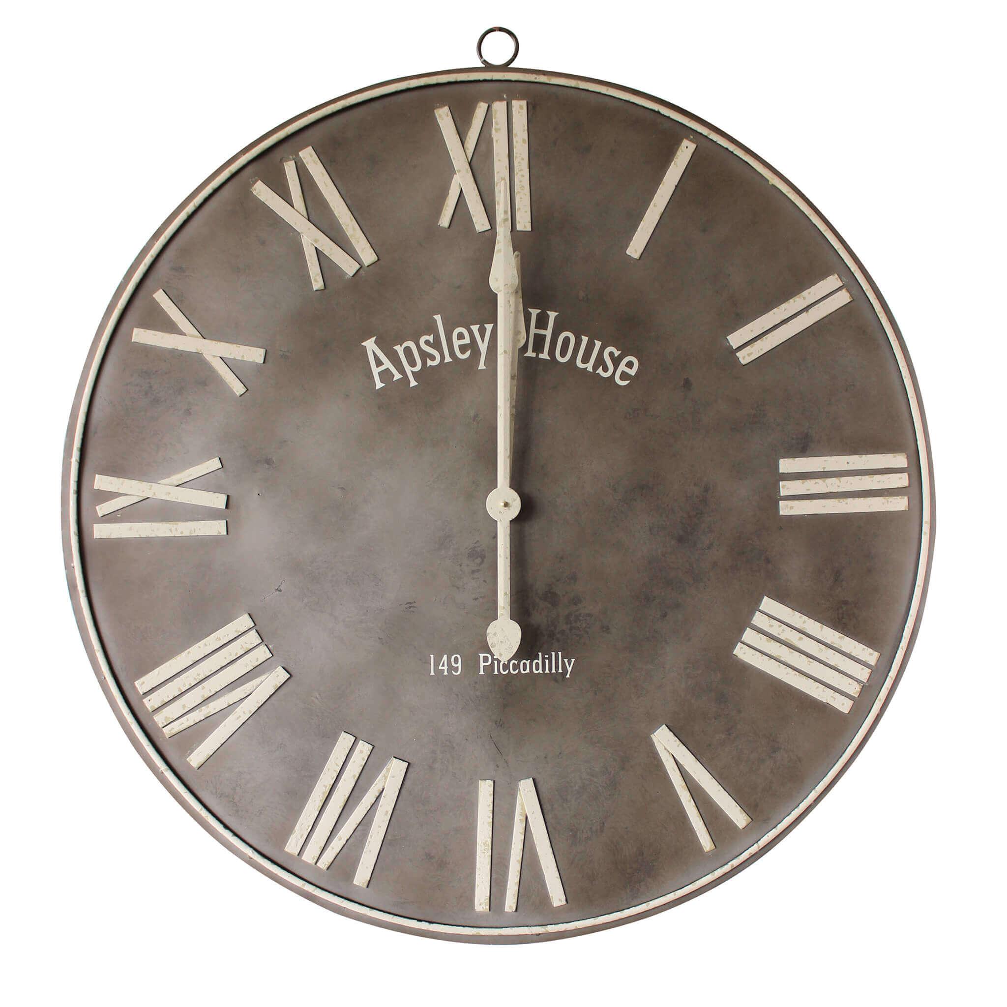 milani home nicholas - orologio da parete xl