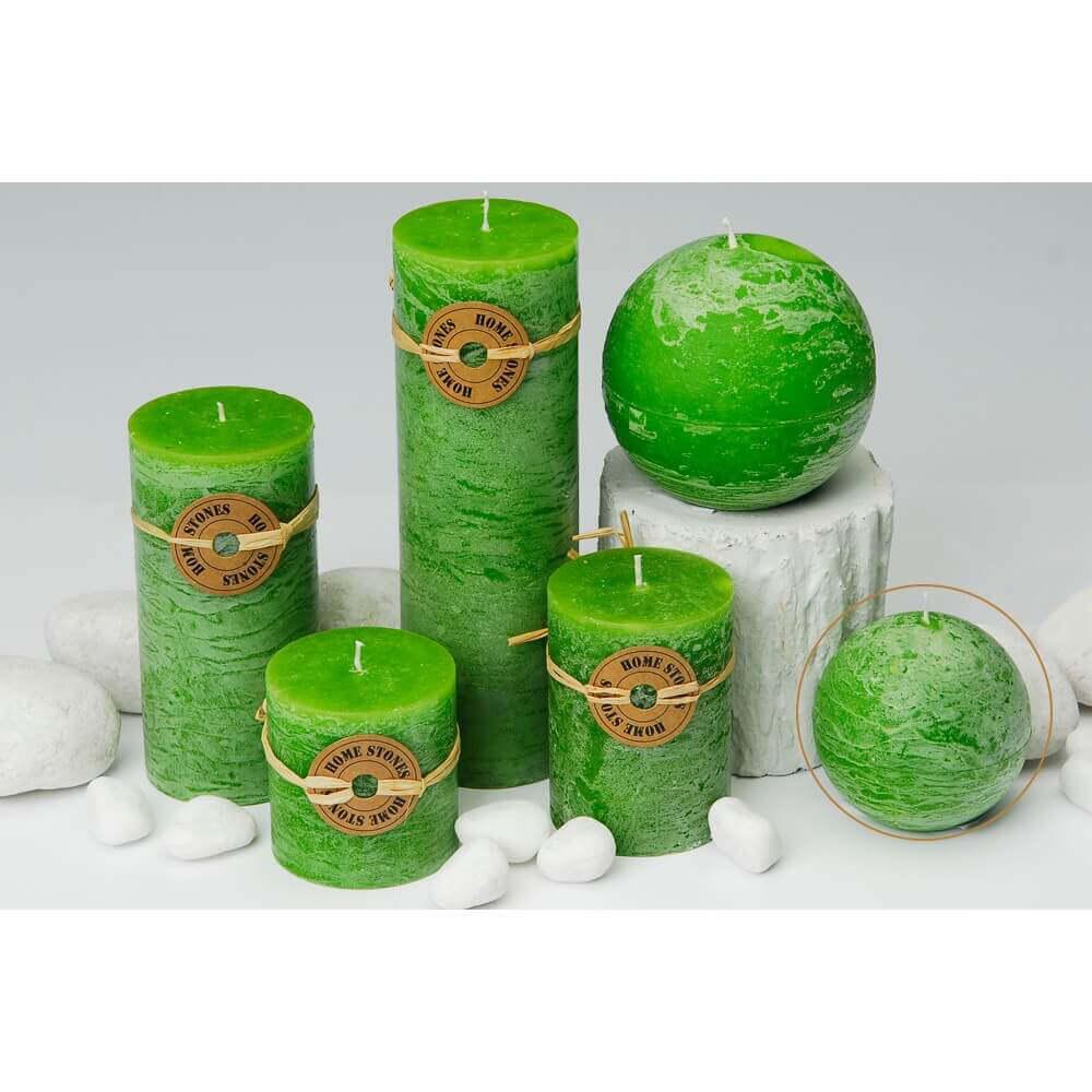 Milani Home VERT - candela sferica profumata 8 cm