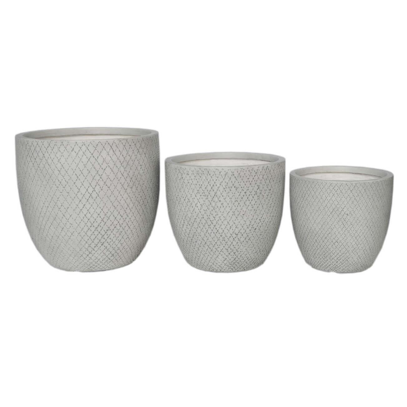 Milani Home TERESA - set di 3 vasi