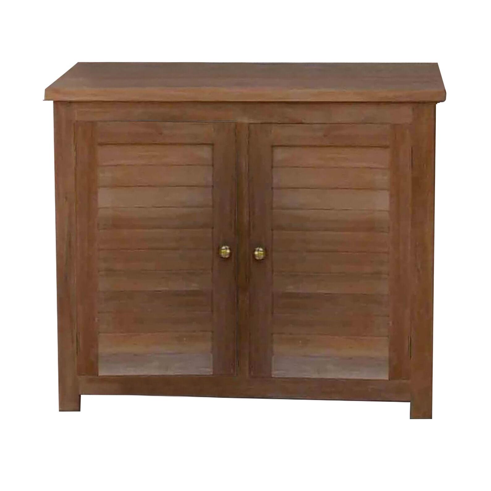 Milani Home PARADIGMA - mobile da giardino in legno di teak 90 x 45