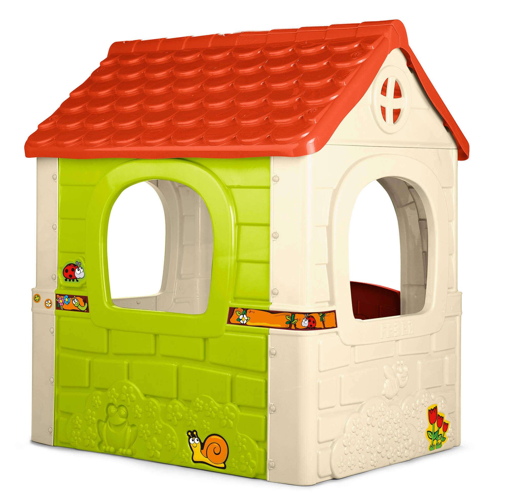 milani home fantasia - casetta da giardino per bambini