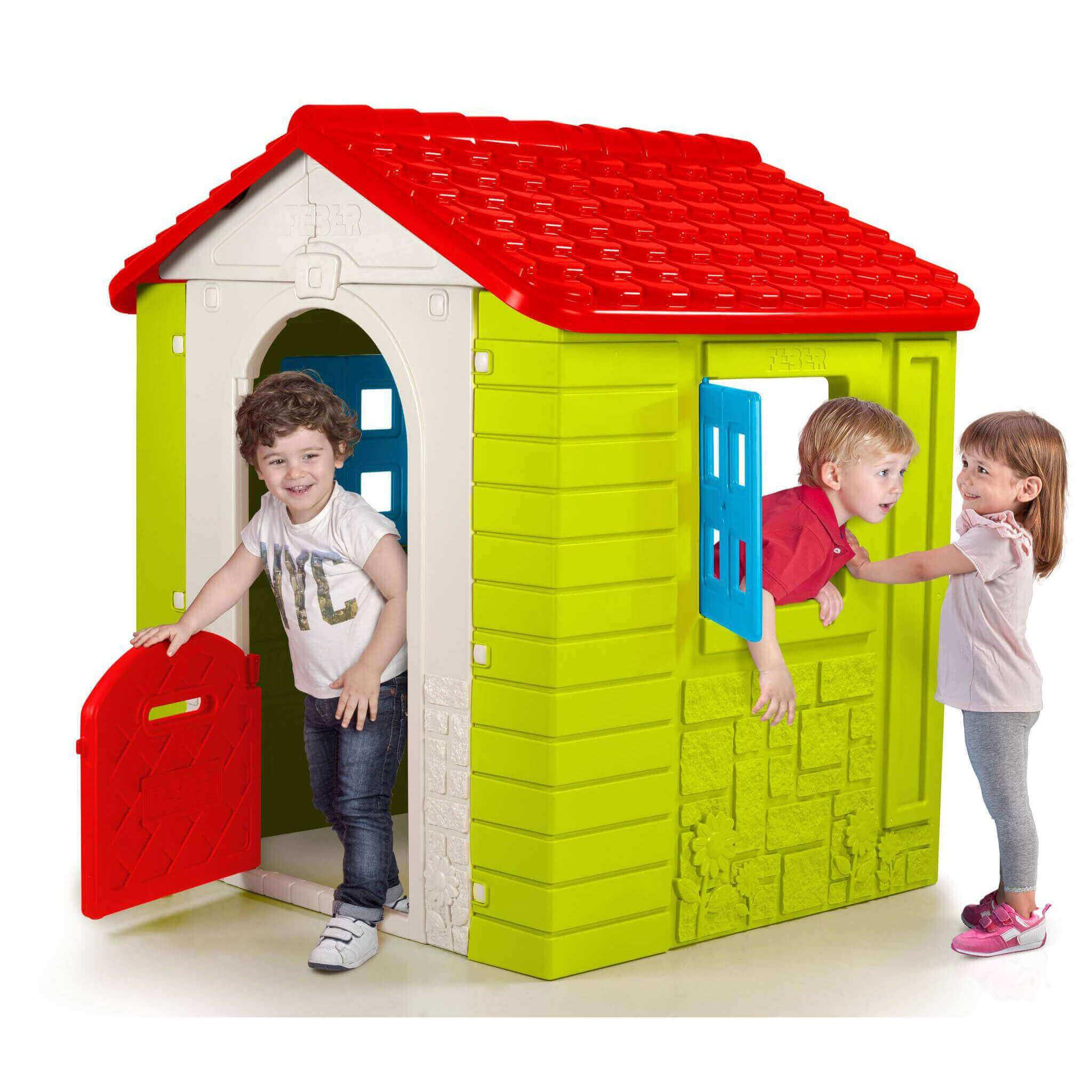 milani home wonder - casetta da giardino per bambini