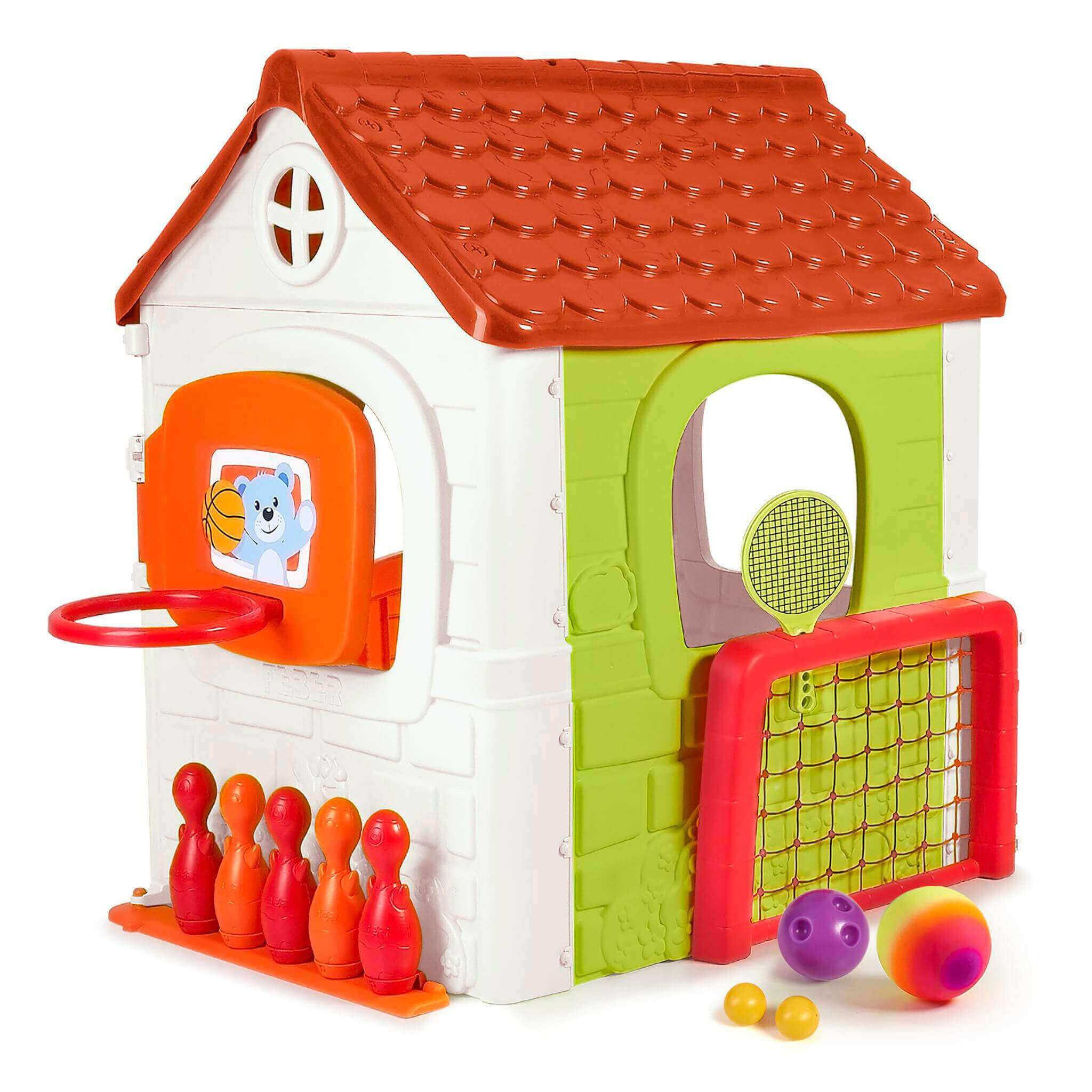 Milani Home MULTI ACTIVITY - casetta da giardino per bambini