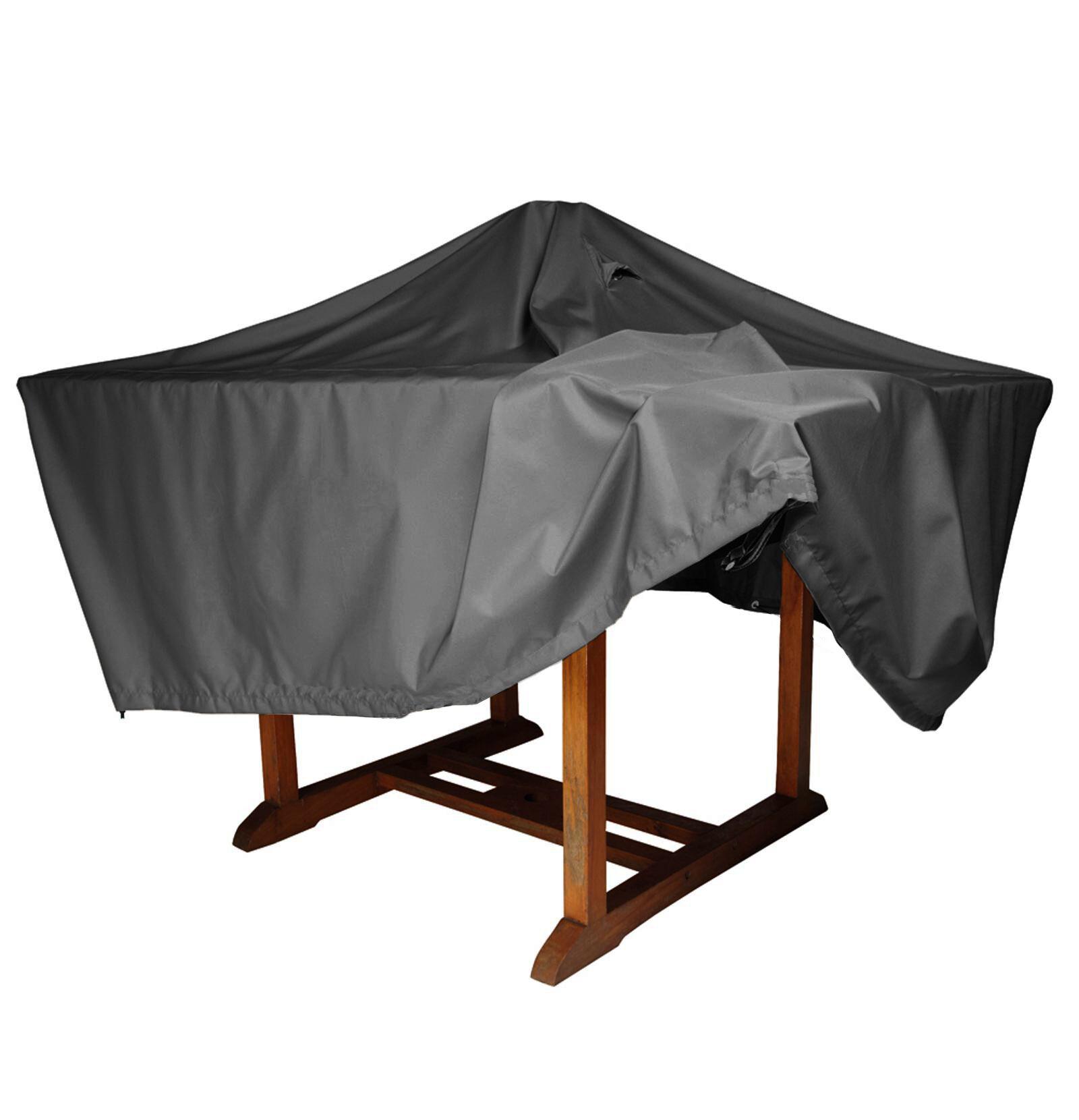 milani home copertura - telo di copertura tavolo rotondo cm diam. 120x60 h