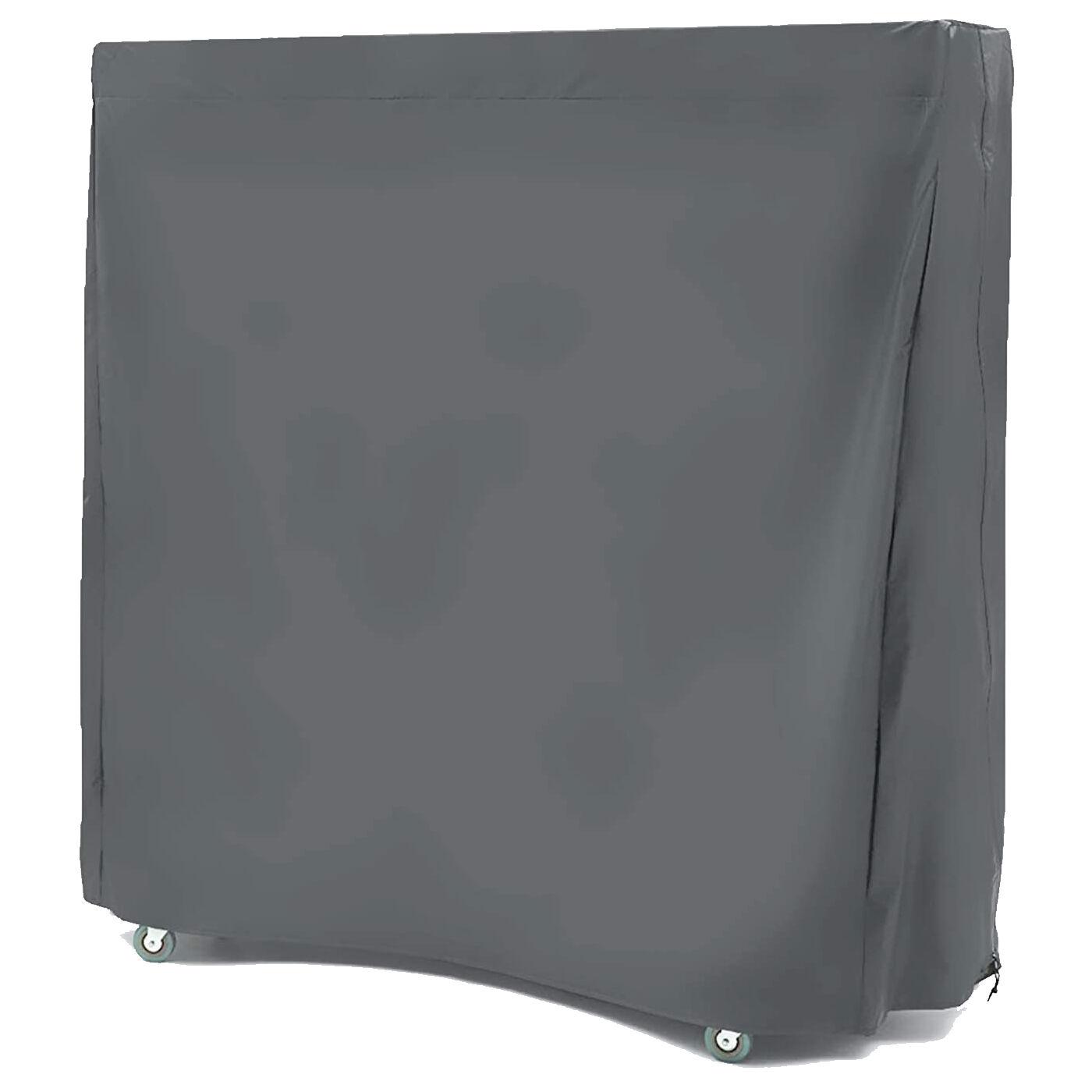 milani home copertura - telo di copertura per tavolo da ping pong cm 190x75x175 h