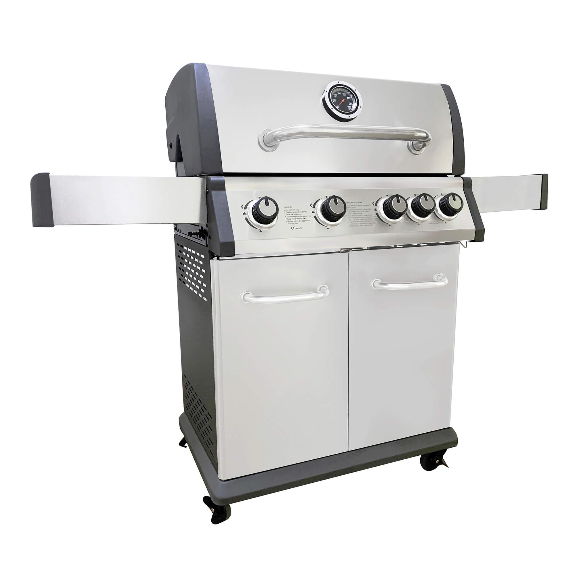 Milani Home DIABLO - barbecue 4 fuochi + 1
