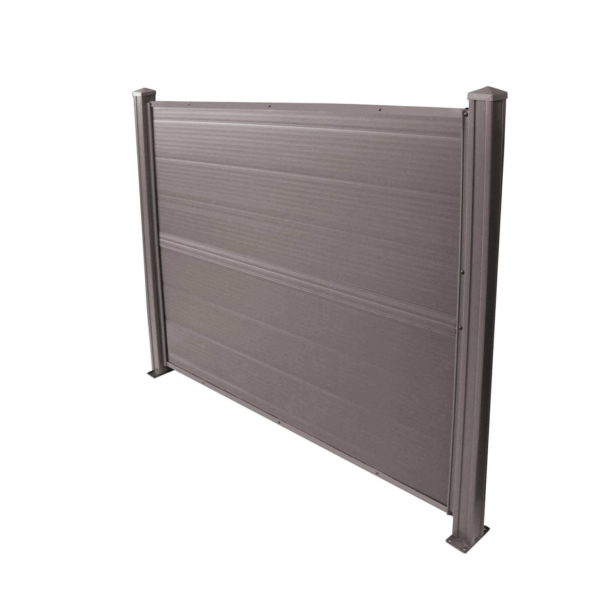 Milani Home RECCI - pannello di recinzione in resina da giardino cm 150 x 120