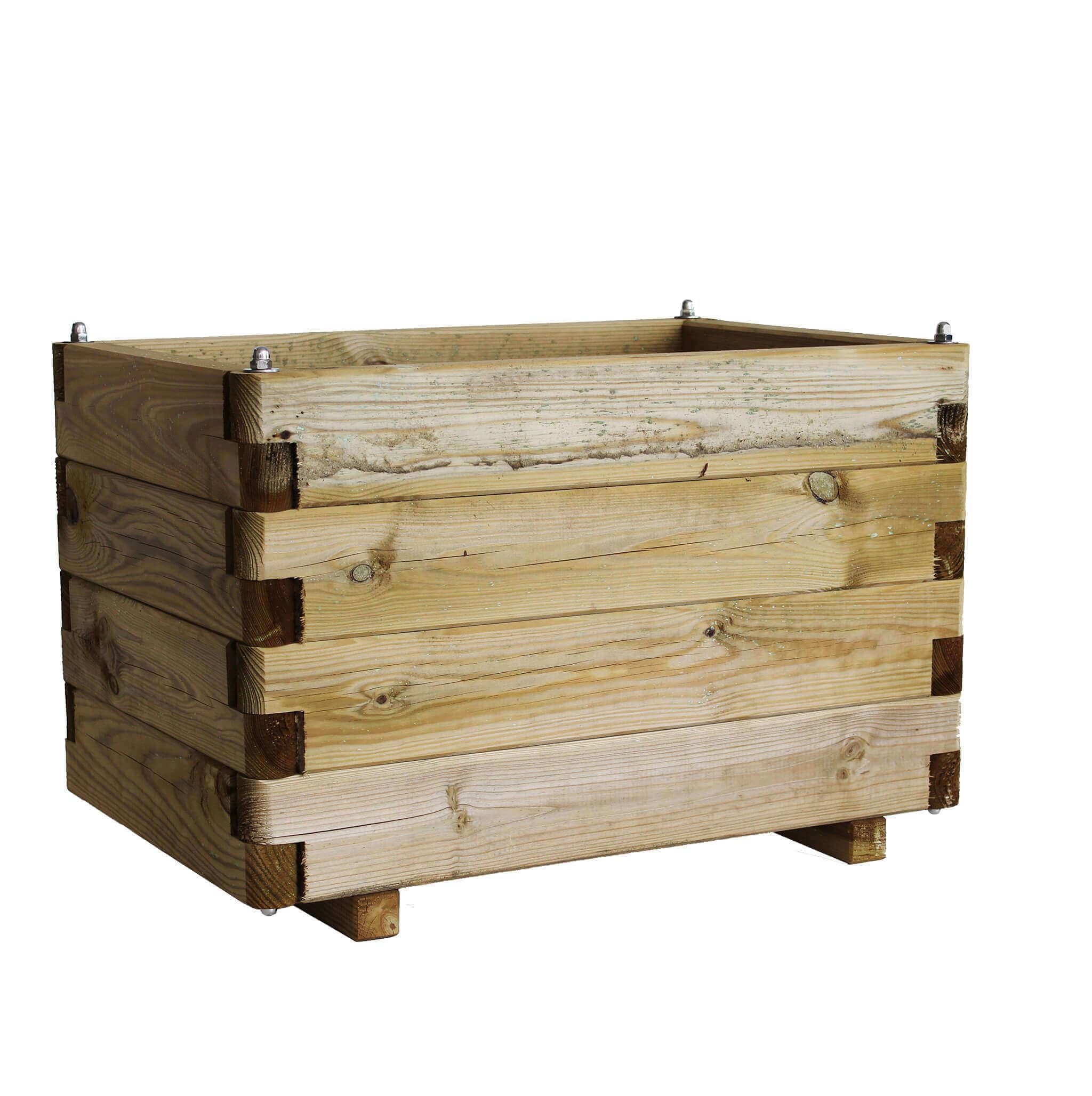 Milani Home FIORIERA - in legno da giardino 60 X 40 X 40 h