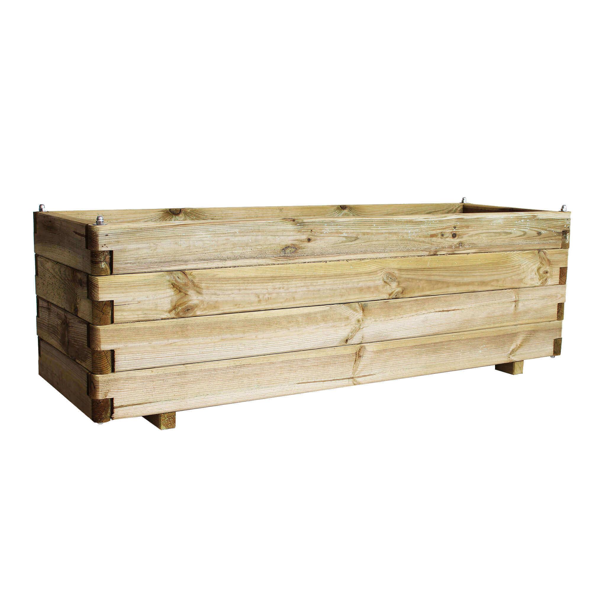 Milani Home FIORIERA - in legno da giardino 120 X 40 X 40 h
