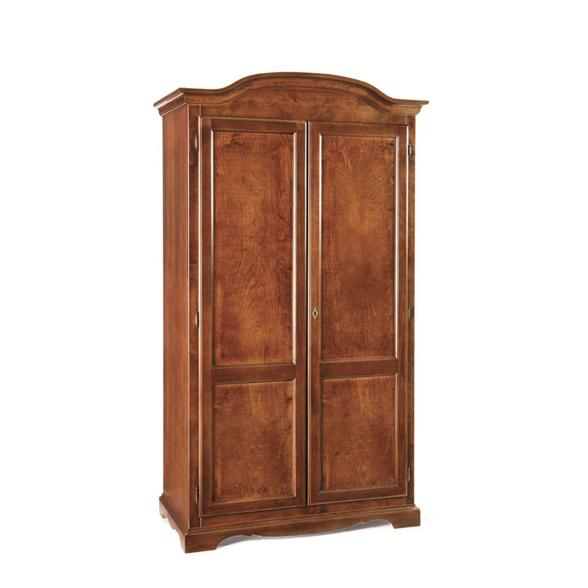 Milani Home HECTOR - armadio 2 ante in legno massello 107 x 55 197