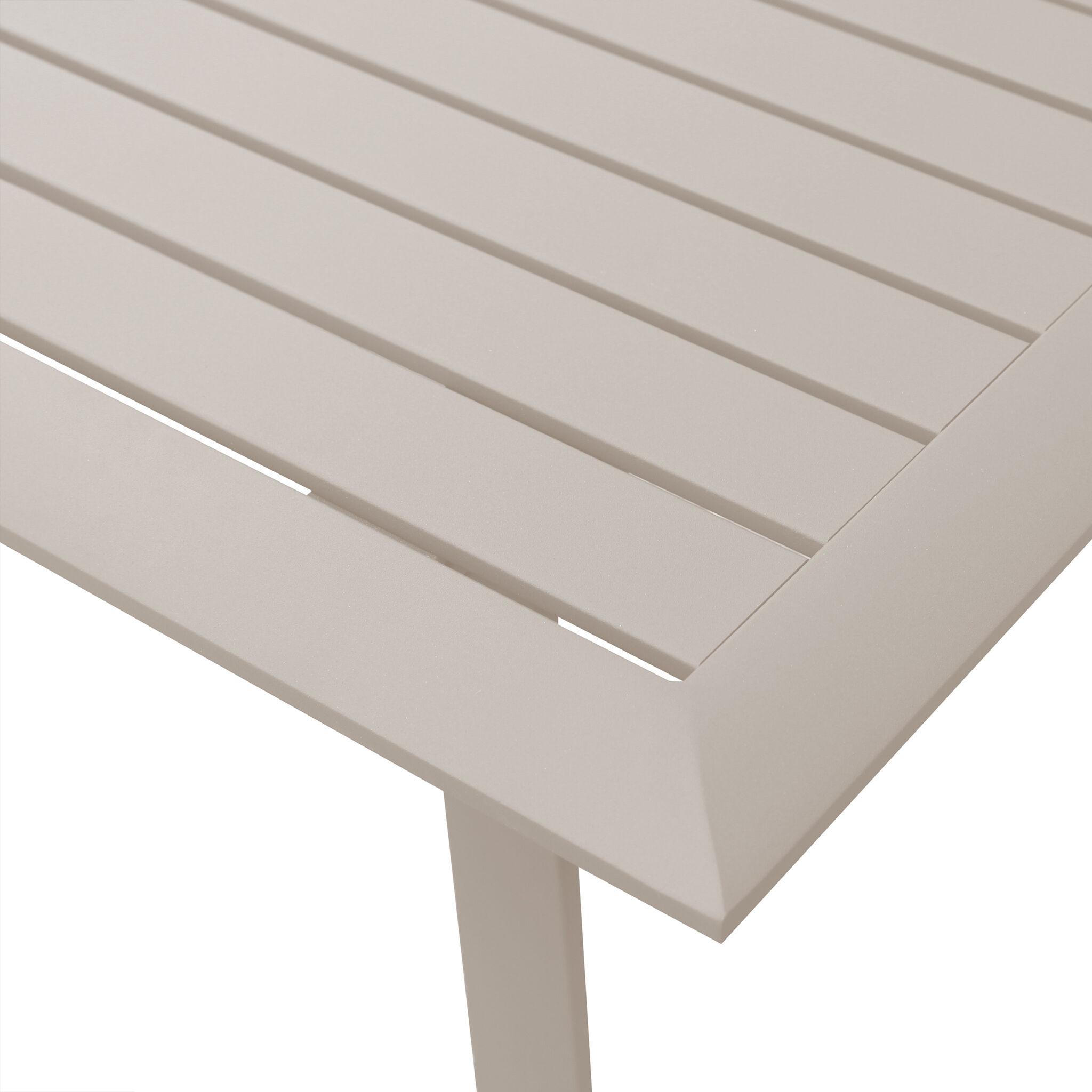 Milani Home EXSILIUM - salotto da giardino 2 posti in alluminio
