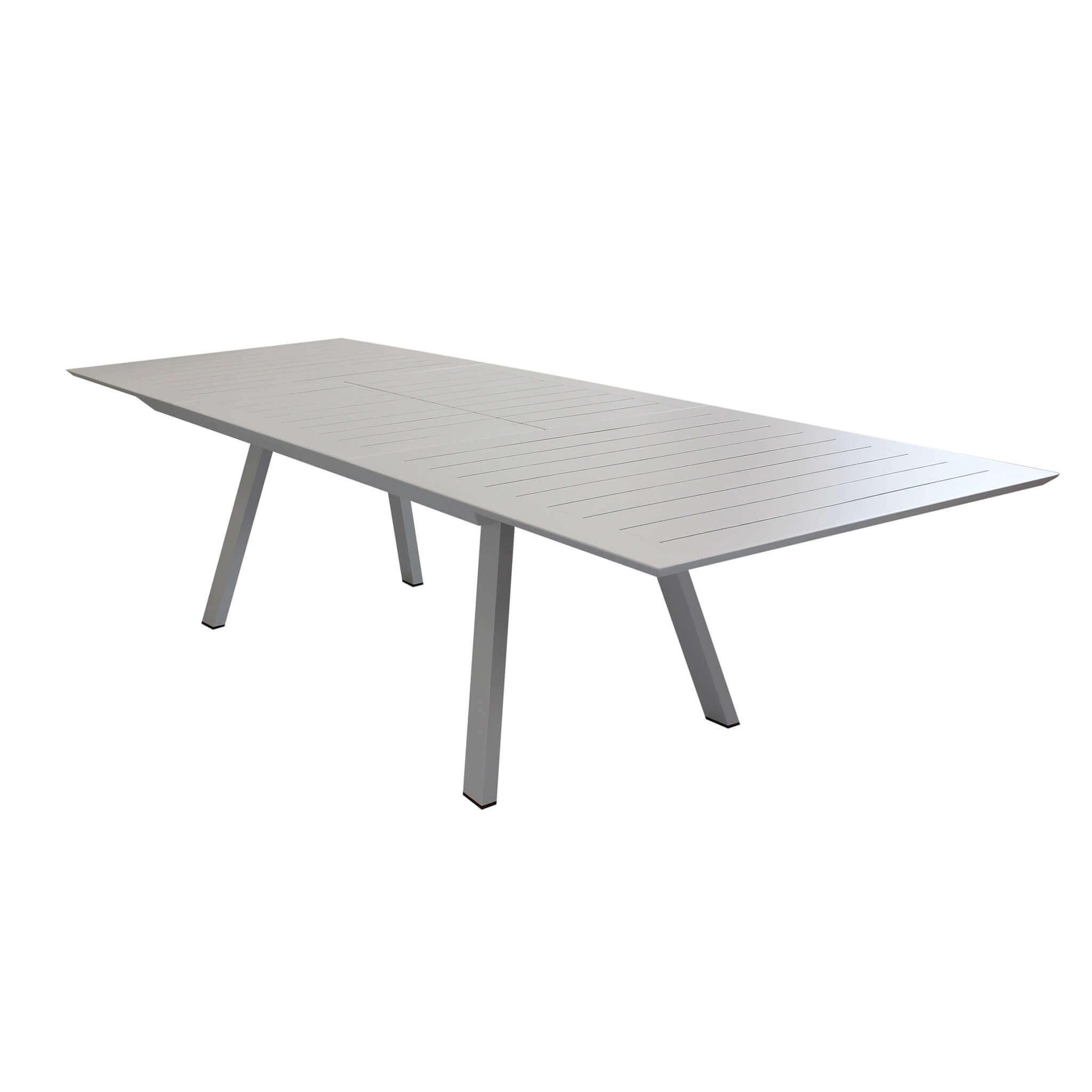 Milani Home SPLENDOR - tavolo da giardino allungabile in alluminio 200/300 x 110