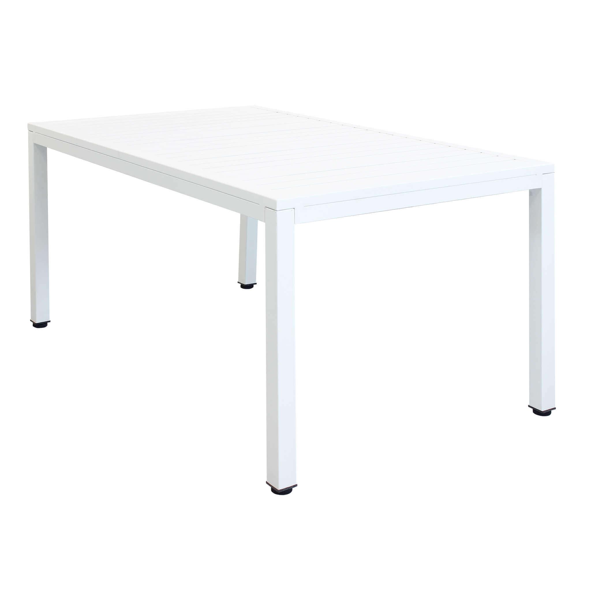 Milani Home OMEN - tavolo da giardino in alluminio 150 x 90