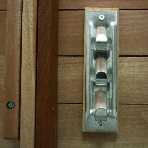 Milani Home PIC-NIC - tavolo da giardino pieghevole salvaspazio in legno 60 x 80